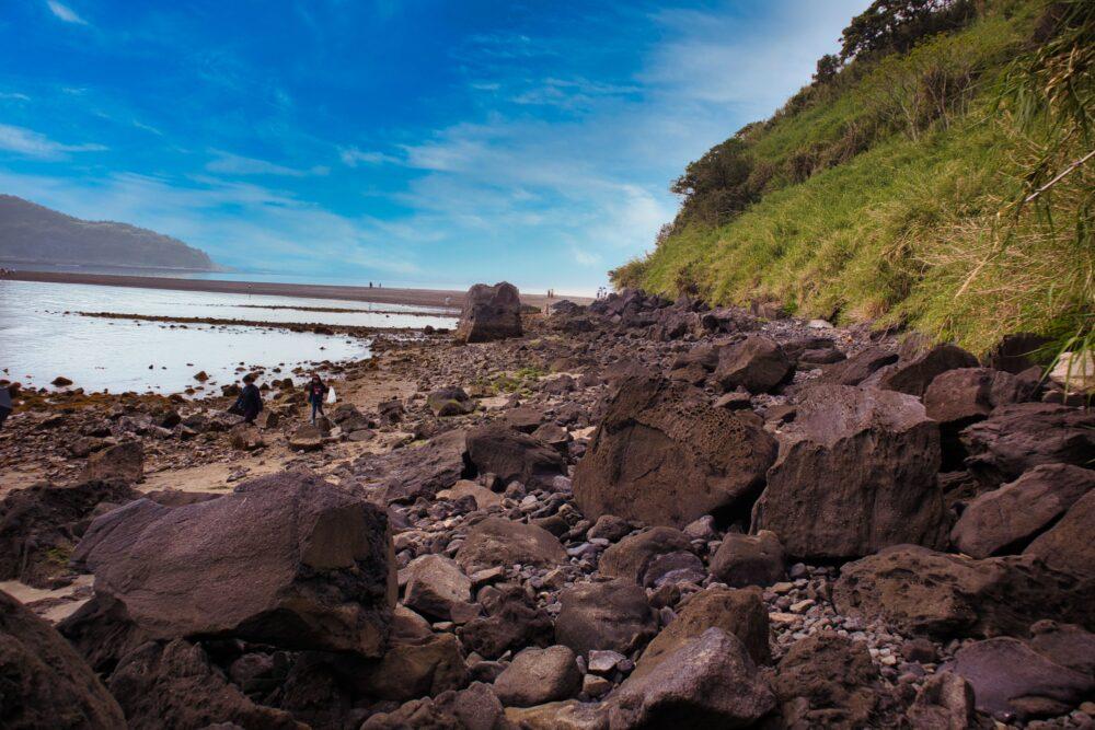 知林ヶ島登り口へ