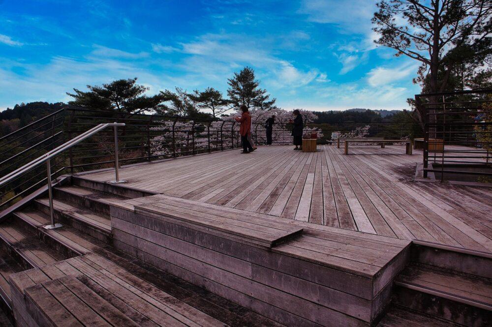 曽木の滝の展望所