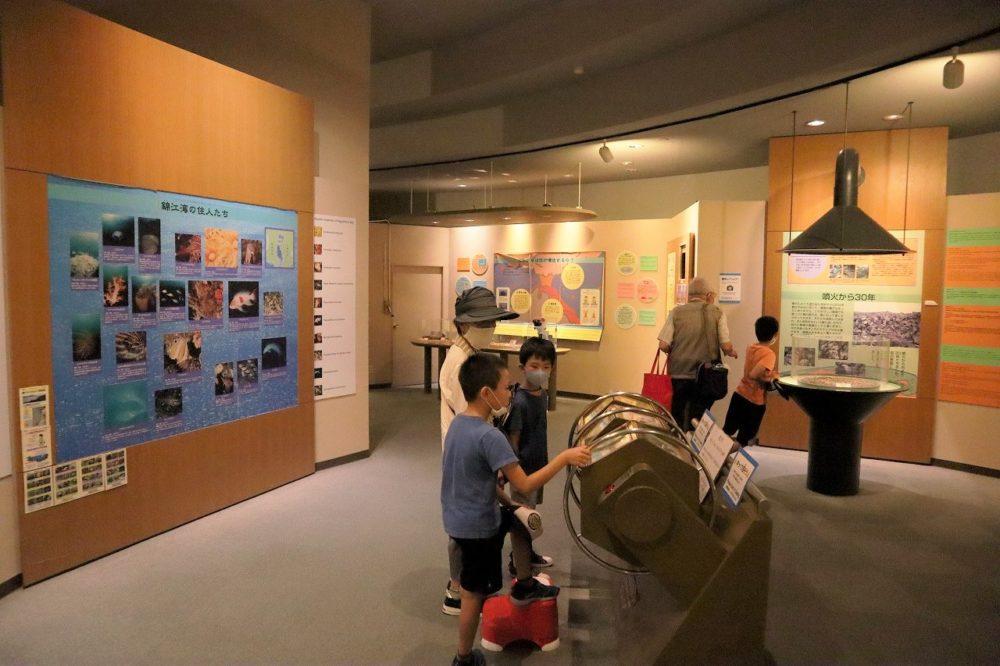 ビジターセンター展示