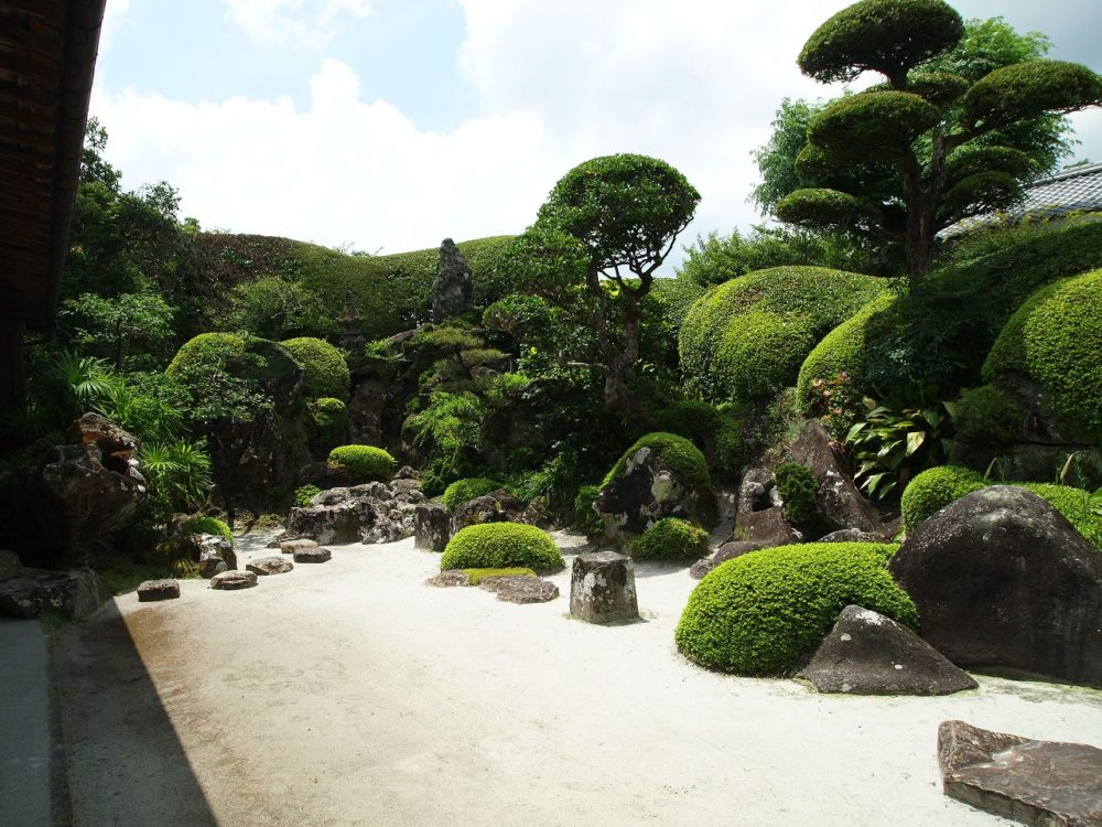 佐多民子氏庭園