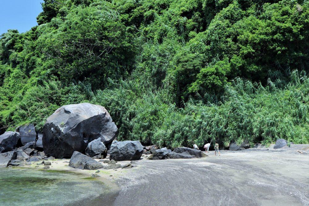 知林ヶ島のパワーストーン