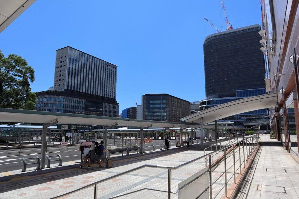 鹿児島中央駅前広場