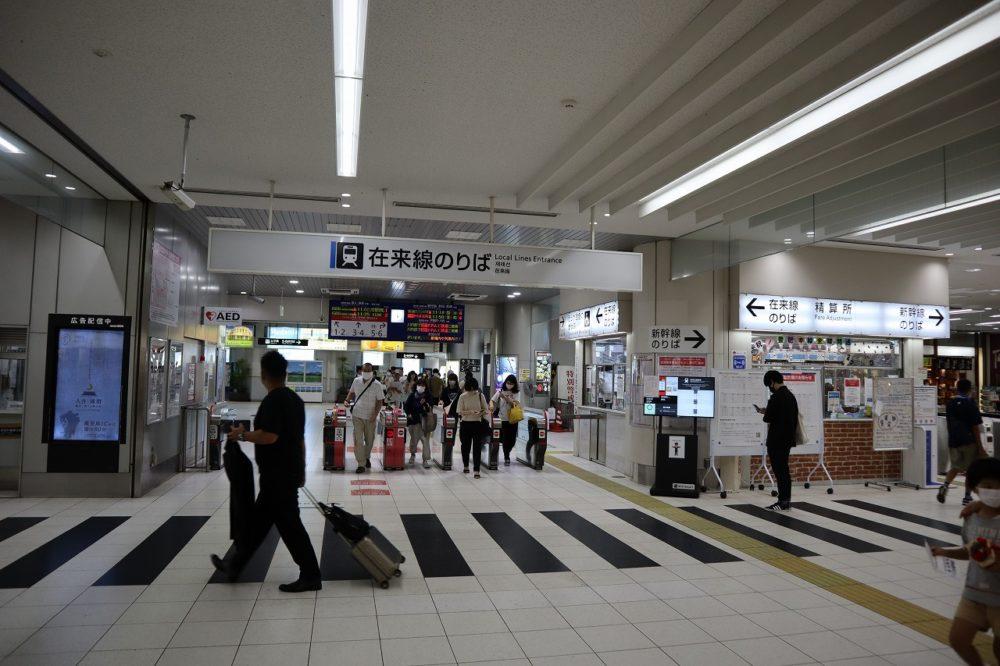 鹿児島中央駅在来線のりば