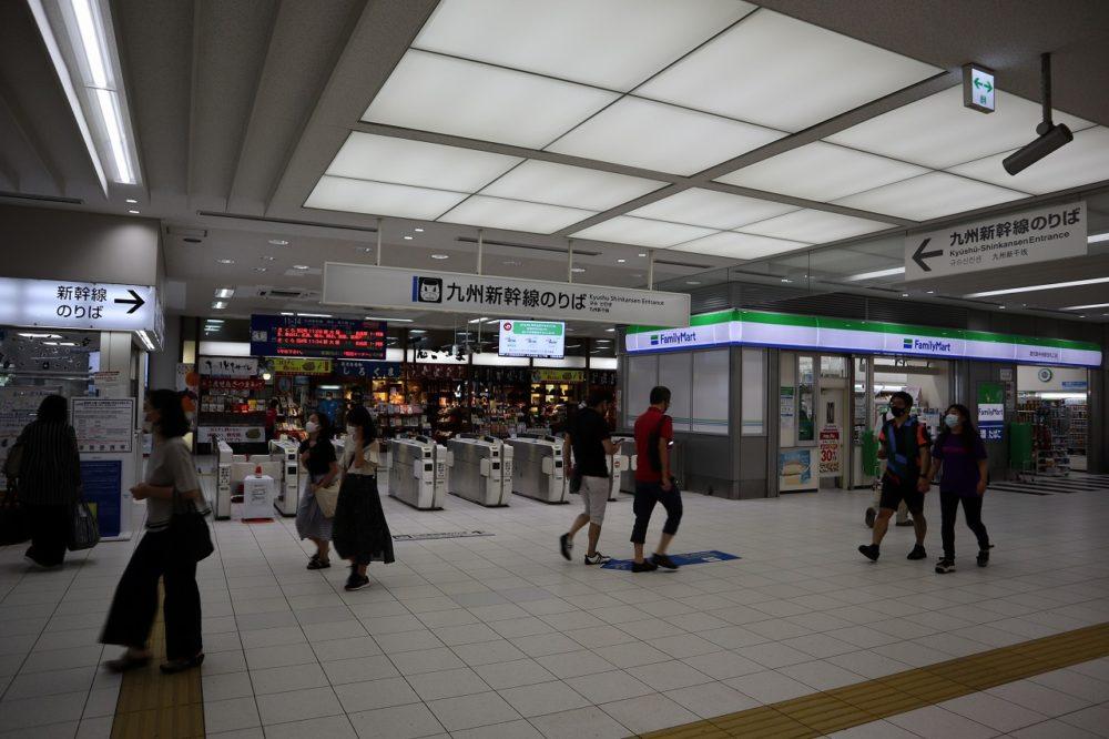 鹿児島中央駅九州新幹線のりば