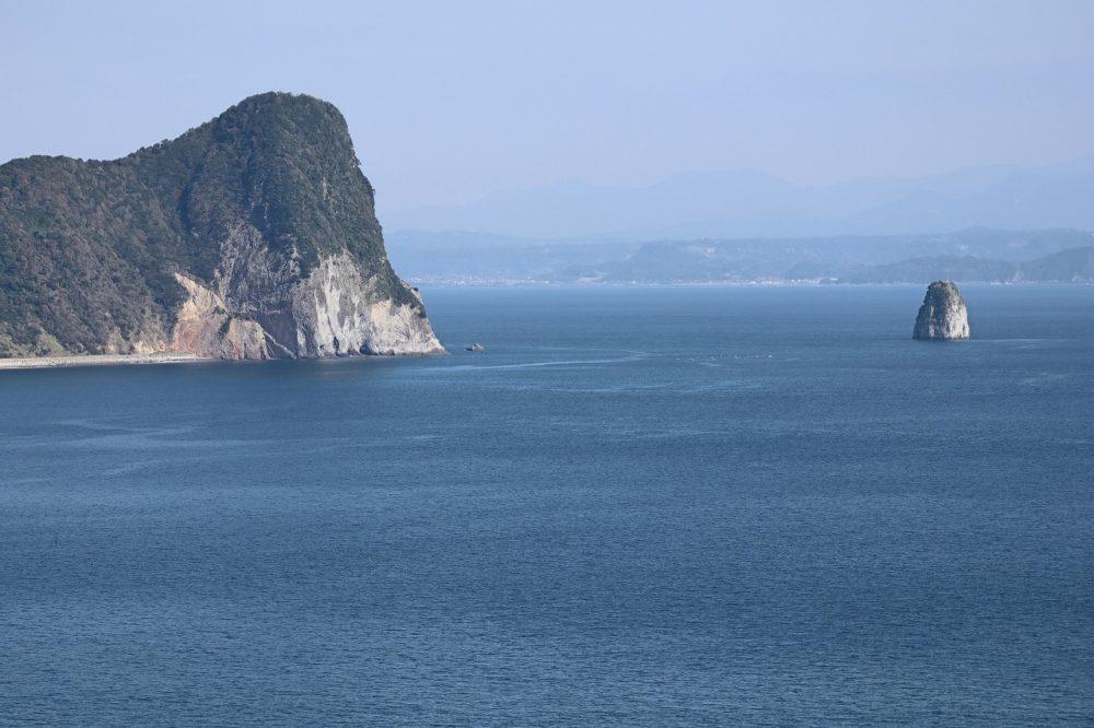 錦江湾と大隅半島