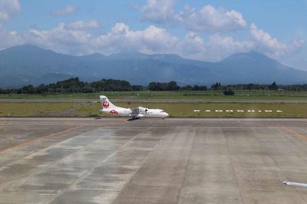 鹿児島空港滑走