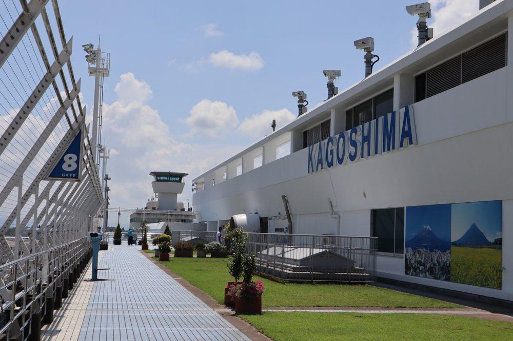 鹿児島空港管制室