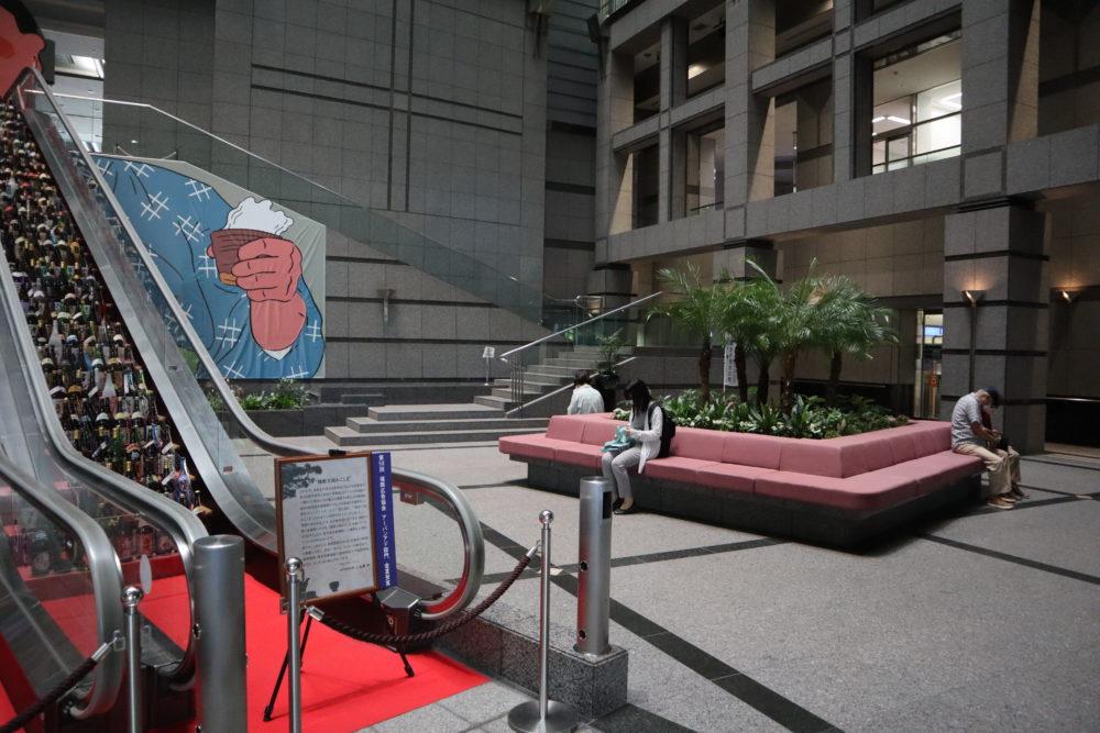 鹿児島県庁ロビー椅子