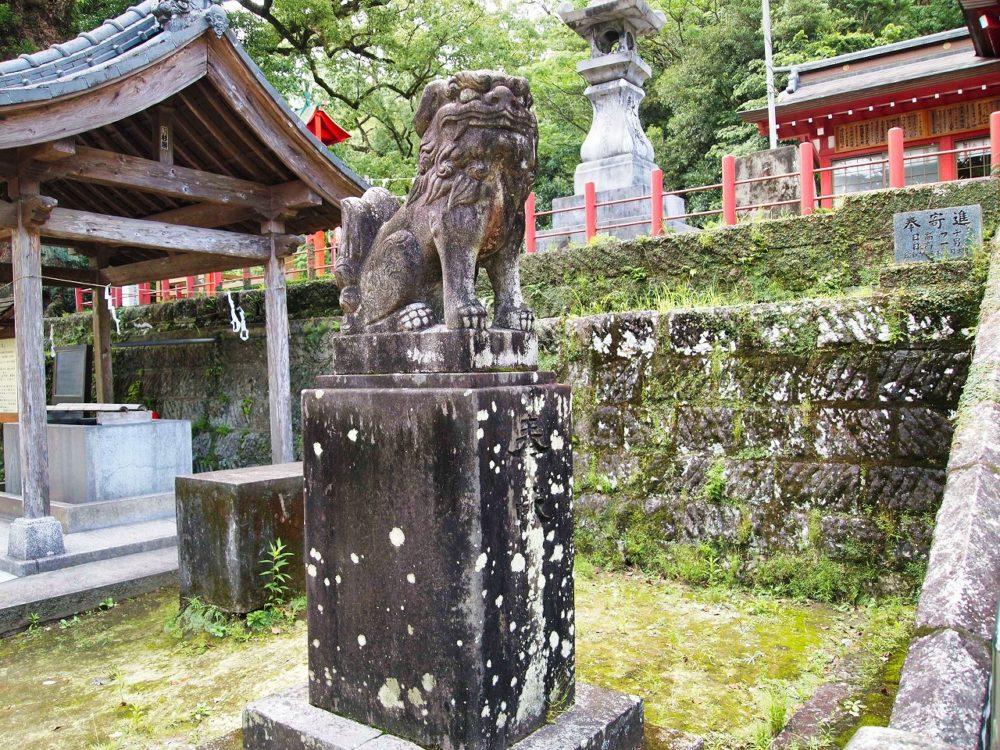 蒲生八幡神社の狛犬