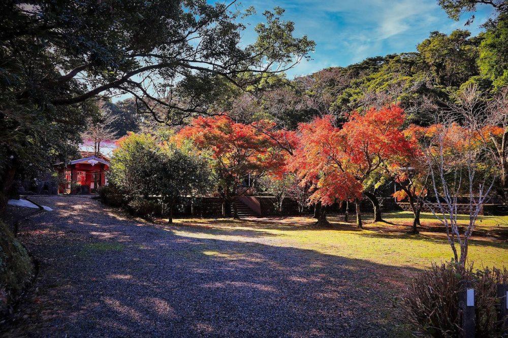 大野嶽神社紅葉