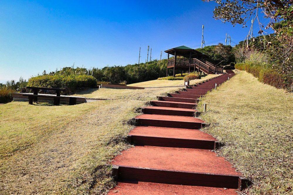 大野嶽の階段