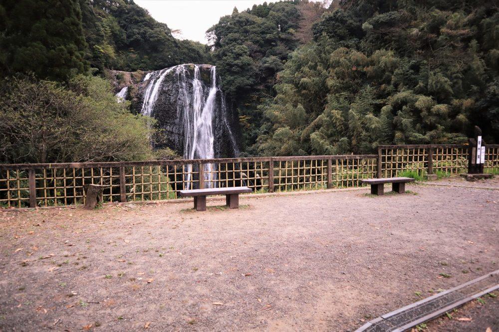龍門滝展望広場