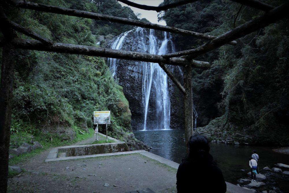 龍門滝の下の広場