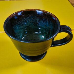 桜島溶岩焼きのコーヒーカップ