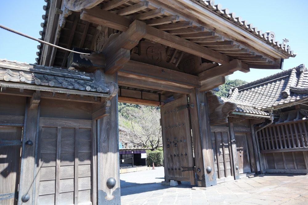 仙巌園正門