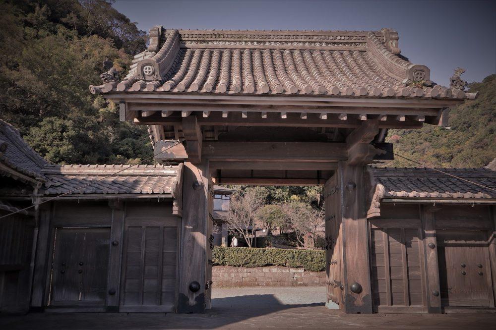 仙厳園の正門